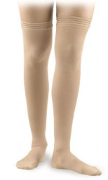 Activa Surgical Weight Unisex Closed Toe Thigh Highs w/ Uni-Band Top 30-40 mmHg