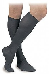 Activa Therapeutic Men's Ribbed Dress Socks 15-20 mmHg