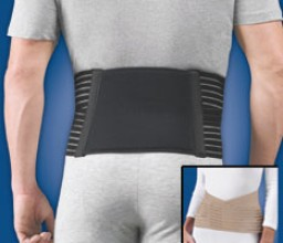FLA Thermal Back Support w/ Reusable Hot/Cold Gel Pack
