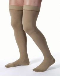 Jobst Men's 30-40 mmHg Closed Toe Thigh Highs