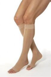 Jobst Ultrasheer Knee High Open Toe Support Stockings 15-20 mmHg