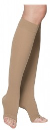 Sigvaris 230 Cotton Series 20-30 mmHg Open Toe Knee Highs - 232C