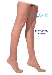 Sigvaris 770 Truly Transparent 20-30 mmHg Women's Closed Toe Thigh Highs - 772N