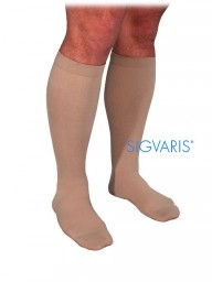 Sigvaris 860 Select Comfort Series 20-30 mmHg Men's Closed Toe Knee Highs - 862C