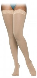 Sigvaris 860 Select Comfort Series 30-40 mmHg Women's Closed Toe Thigh Highs - 863N