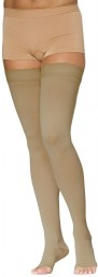 Sigvaris 970 Access Series 20-30 mmHg Unisex Open Toe Thigh Highs - 972N