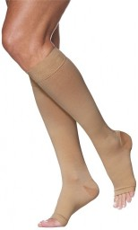 Sigvaris 970 Access Series 30-40 mmHg Unisex Open Toe Knee Highs - 973C