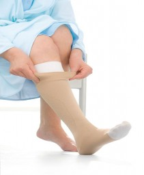 Jobst UlcerCare Non-Zippered Unisex Open Toe Knee Highs