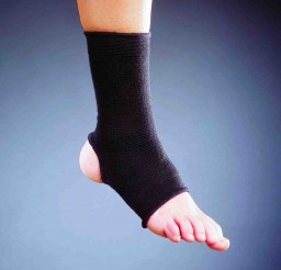 SAI Black Elastic Ankle Support