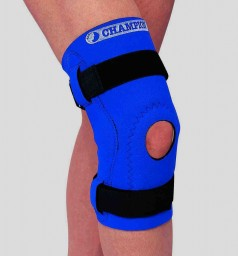 SAI Neoprene Knee Support - Hinged Bars Hor-Shu Pad