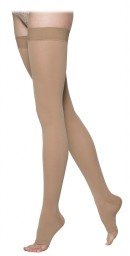 Sigvaris 860 Select Comfort Series 30-40 mmHg Open Toe Unisex Thigh Highs - 863N