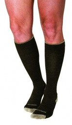 Sigvaris Men's & Women's Merino Outdoor Performance Wool 20-30 mmHg Compression Closed Toe Knee High Socks - 422C