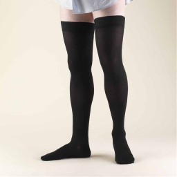 Truform Classic Medical Closed Toe 20-30 mmHg Thigh High (w/ Silicone Dot Top)
