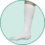 Juzo 5760 OTC Silver Sole Unisex Knee High Socks 12-16mmHg - New!