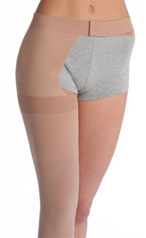 0239505290 Juzo Dynamic 3512AG 30-40 mmHg Open Toe Thigh High w/ Hip Attachment