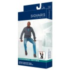 Sigvaris 360 Cushioned Cotton Series 20-30 mmHg Men's Closed Toe Knee Highs - 362C